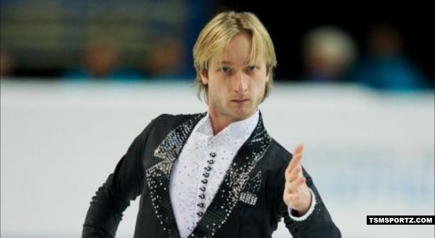 one of the best figure skaters in Russia Evgeni