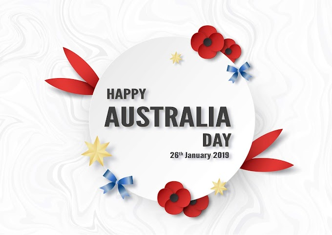 Happy Australia Day on 26 January. Template design for poster, invitation card, banner, advertising free vector by vectorkh