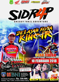 "SIDRAP One Day Trail Adventure 4, ""Jelajah Kota Kincir 2018"""