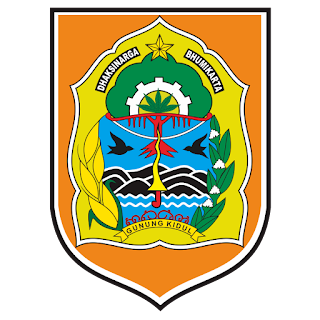 Logo Gunung Kidul  Vektor CDR CorelDraw
