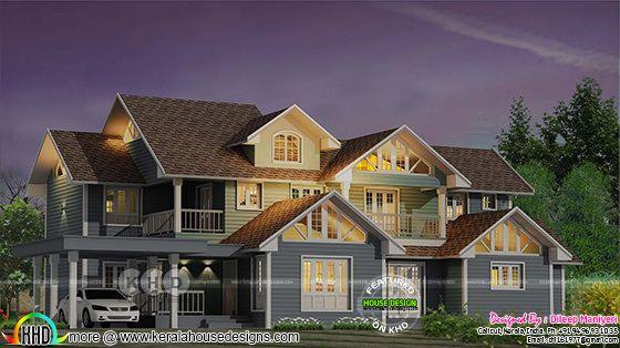 Beautiful English style 4 bedroom villa