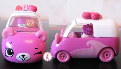 Автомобиль Кьюти Карс Shopkins йогурт-карт