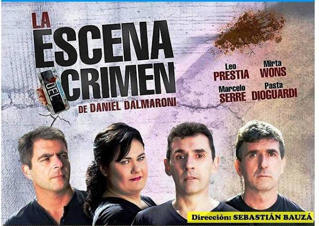 """Llega al teatro de Monte Maíz """"La Escena del Crimen"""""""