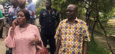Photos: Tourism Minister Hon. Catherine Afeku Pays A Working Visit To The Western Region