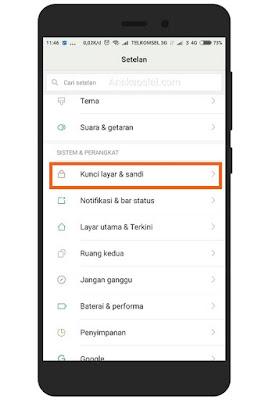 Langkah Langkah Membuat Nama Pemilik di Layar Kunci Xiaomi 1
