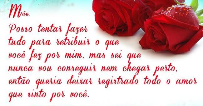 """A Cada Dia Que Nasce O Meu Amor Por Você Fica Mais Forte: Belas Frases De Amor: """"Mãe, Posso Tentar Fazer Tudo Para"""