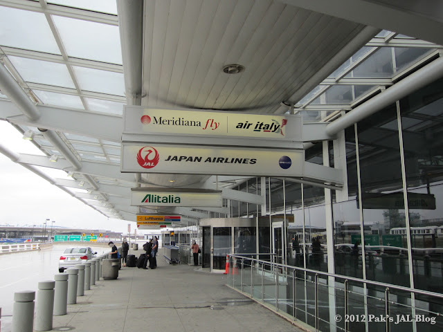 JAL uses Terminal 1 at New York JFK Airport