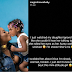 Davido's baby mama shocked and Complains  over her daughter's attitude