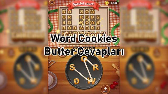 Word Cookies Butter Cevaplari