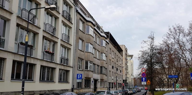 Warszawa Warsaw Śródmieście kamienica warszawskie ulice Gelbard Sigalin Pniewski Szanajca lata 30 architektura