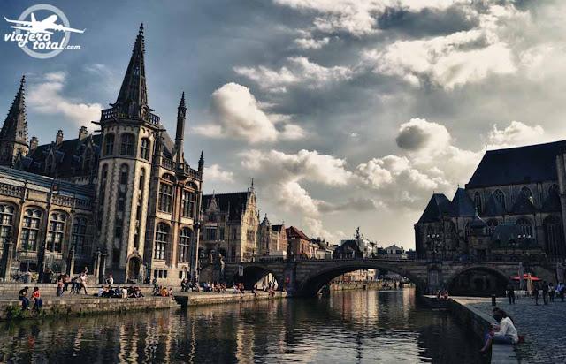Gante - Ghent - Gent - Bélgica - Belgium - Lys