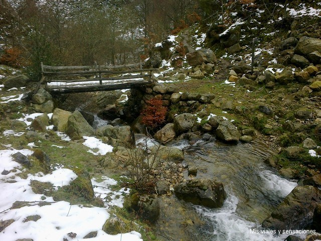 Desfiladero de los arrudos, Parque natural de redes (Asturias)