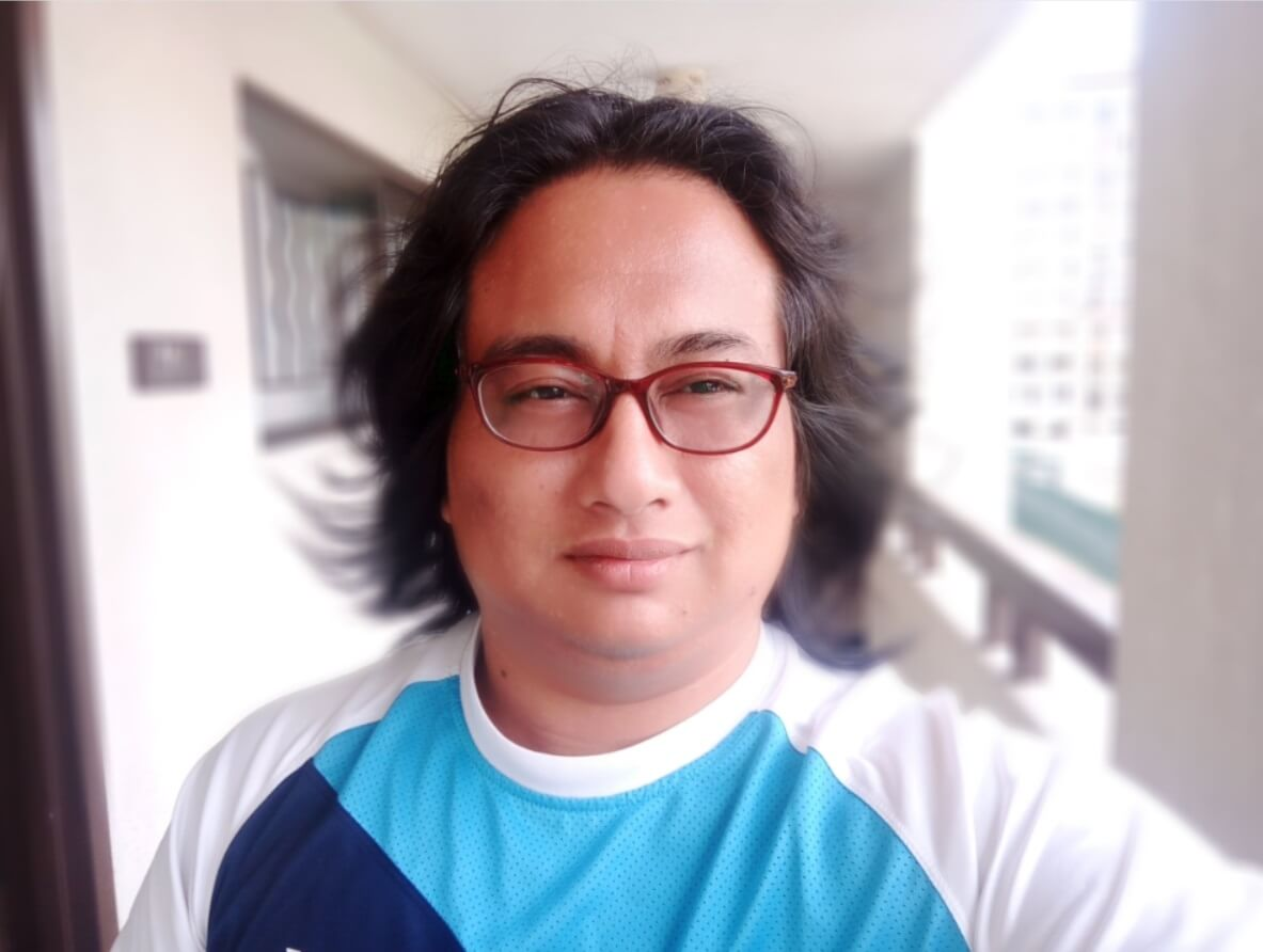 OPPO F3 Camera Sample - Blur Mode Selfie