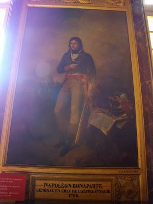 Quadro de Napoleão Bonaparte - Versalhes - Paris - França