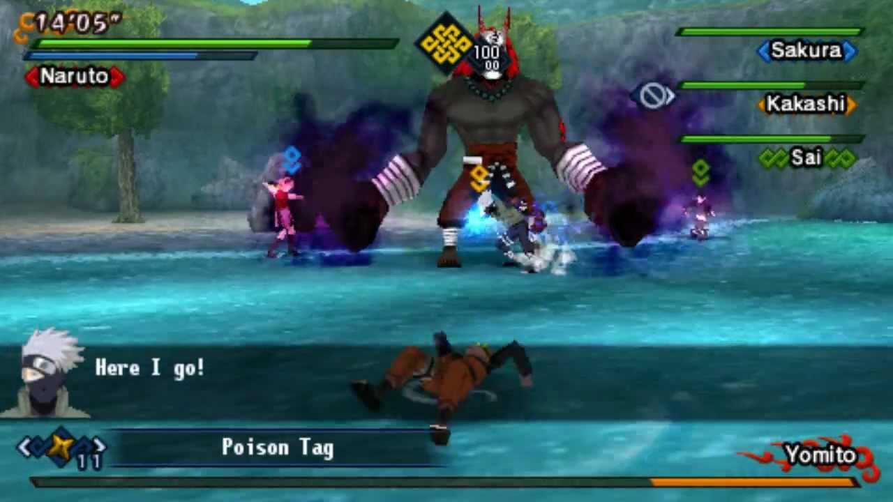 download game ppsspp naruto kizuna drive iso ukuran kecil