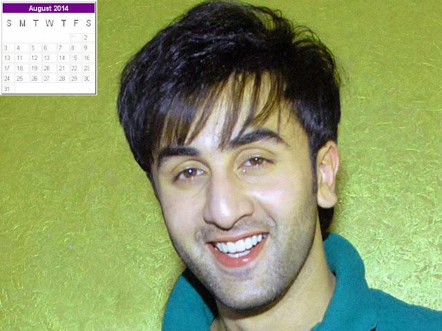 Ranbir Kapoor Calendar 2014: Ranbir Kapoor New Year 2014 ...