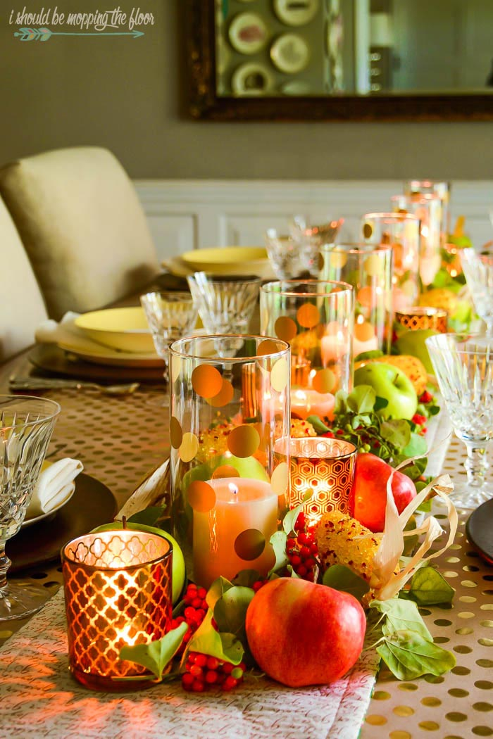 Easy Thanksgiving Centerpiece