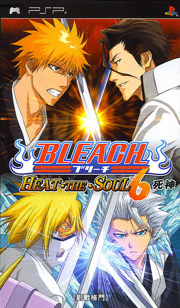 Bleach - Heat The Soul 6 - PSP - ISO Download