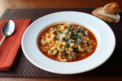 """Sausage Pasta Fazool (Pasta e Fagioli) – Perfect for """"One of Those Days"""""""