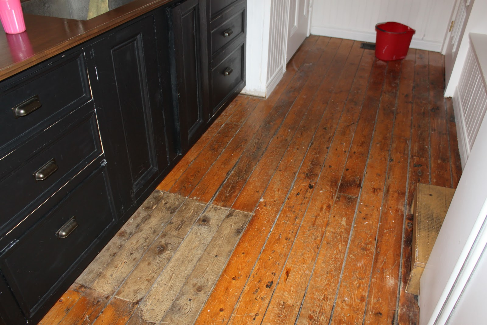 Modern Jane White Painted Floor Part 1