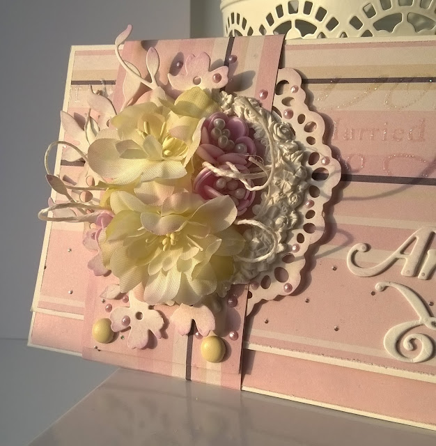 Ślubna kopertówka z opaską