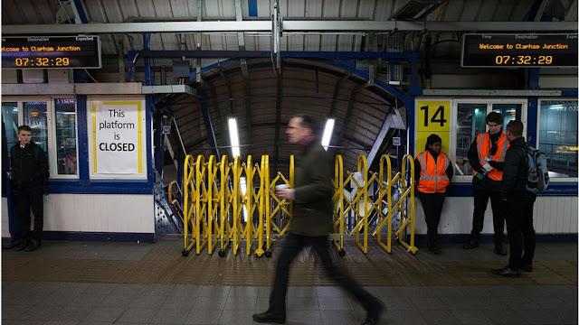 Fresh rail strikes hit England