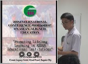 Mr. Rolando M. Tan presents paper at the GFF 2018 International Conference - Workshop