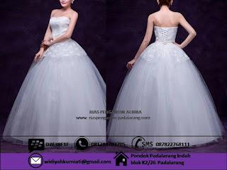 Tempat sewa gaun pre wedding Bandung