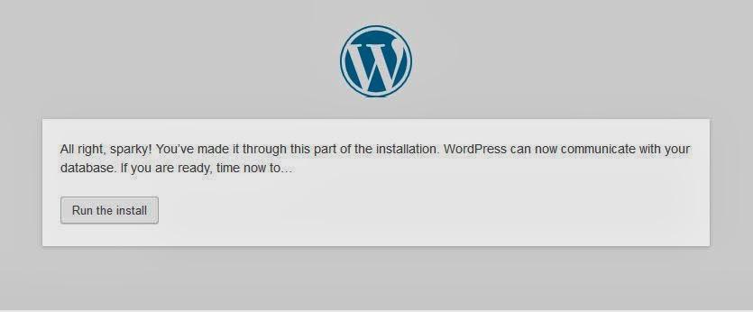 instalasiwebsitewordpresstelahselesai Tutorial membuat website dengan wordpress selfhosted Gratis