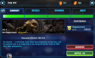 Star Wars: Galaxy of Heroes Apk v0.7.199186 Mod God Mode/Unlocked