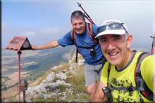 Peñalta mendiaren gailurra 1.243 m. - 2018ko uztailaren 25ean