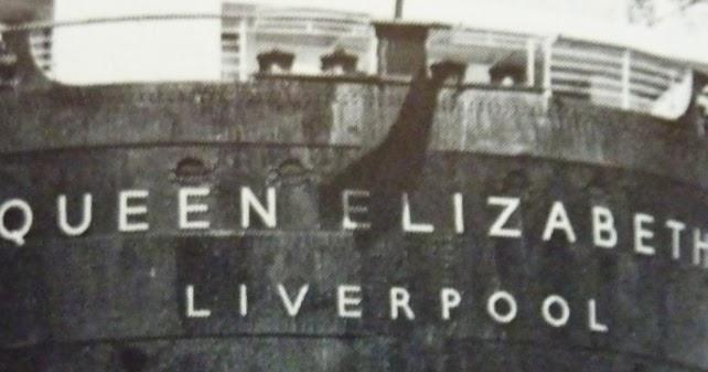 Mauretania Ship Large Metal Picture Plaque Sign Entering Port Nautical Maritime