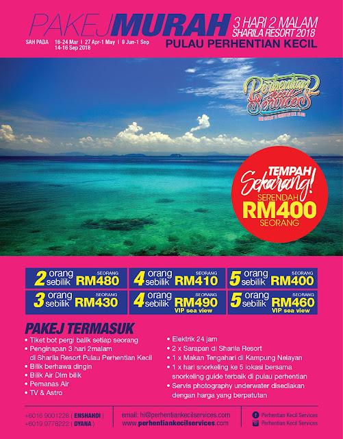 Pakej Pulau perhentian 2019 , Pakej perhentian Terengganu , Pakej Pulau Malaysia