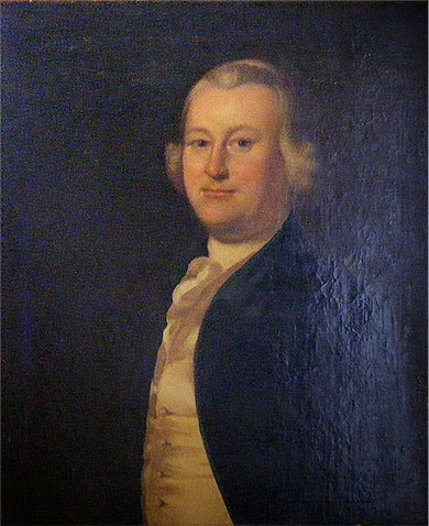 James Otis Jr by Henry Blackburn, 1755