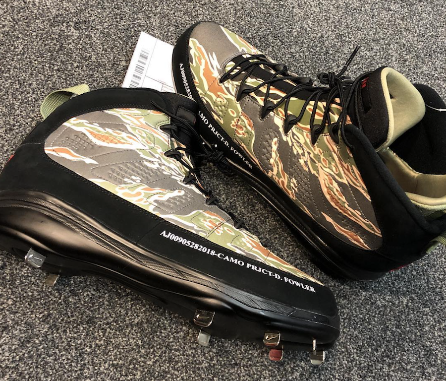 f99010af21ae7b ... reduced these air jordan 9s come with a full tiger camouflage printed  upper paired f2dda c305e