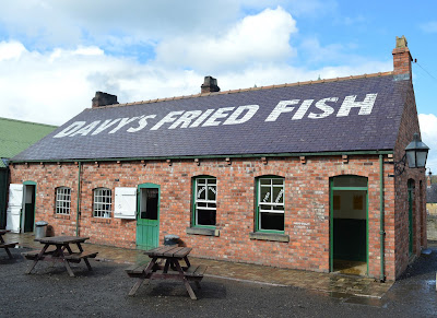 A Bus Trip to the Horses at War Event at Beamish - Fish and chips at Davy's Fried Fish