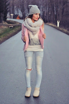 Teenage winter outfit