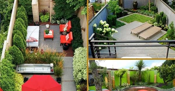 12 Great Ideas For A Modest Backyard: 23 Modest Backyard Ideas How To Make Them Search Spacious
