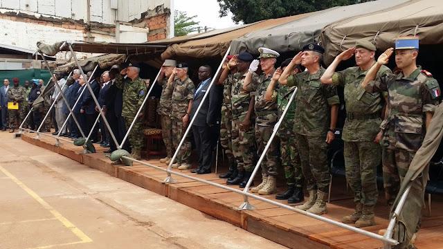 Finaliza la misión de República Centroafricana, que se transforma en EUTM RCA, misión de entrenamiento