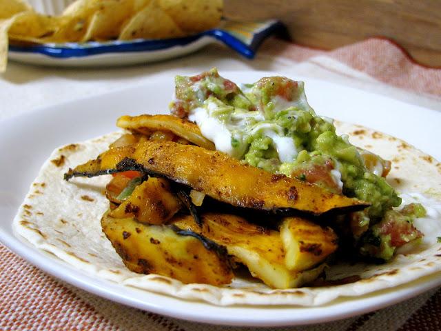 Grilled Eggplant Fajitas