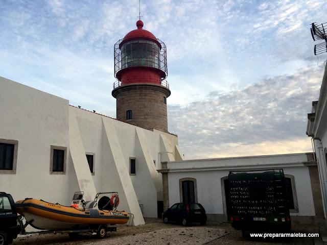 Faro del Cabo San Vicente Portugal