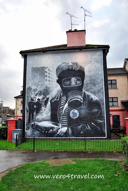 murales de Derry. Bloody Sunday