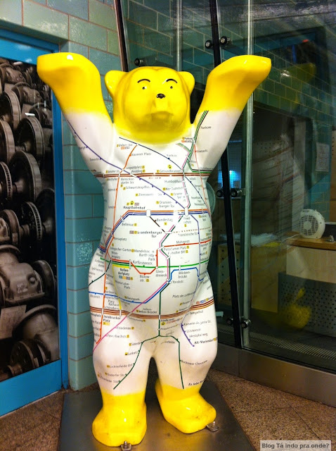 Onde comprar souvenir em Berlim? Buddy Bear