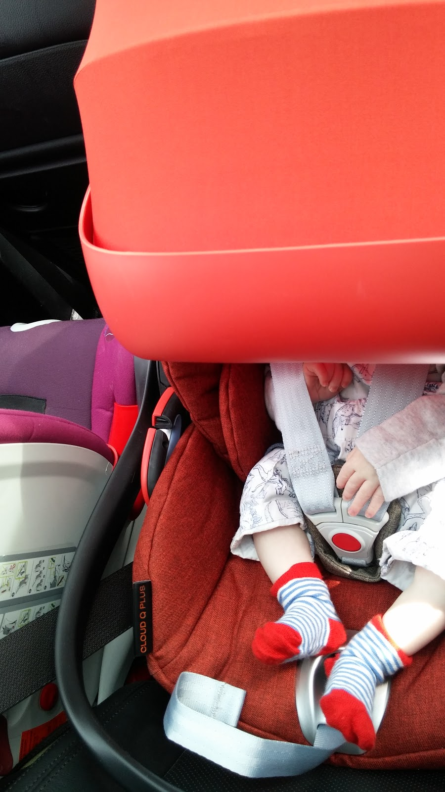 Installation Was Really Easy With The Base I Managed It Whilst Holding Little Man As He Did Not Want To Be Put Down Isofix Bars Are Easily Located