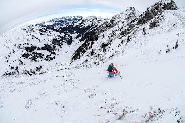 Skifahren extreme