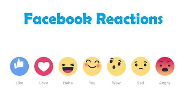 how to use facebook reactions new like button update