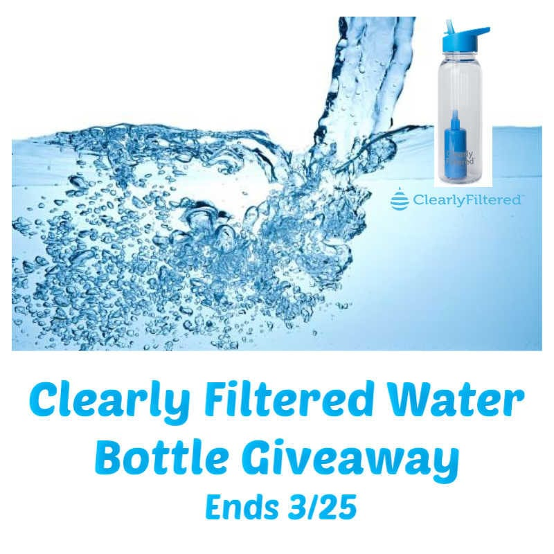 Clearly Filtered Water Giveaway