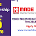 Made Easy National Scholarship Test 2018-2019