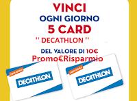 Logo Concorso '' In Forma con il Pulito'': vinci 375 Card Decathlon da 10€ : Anticipazione!