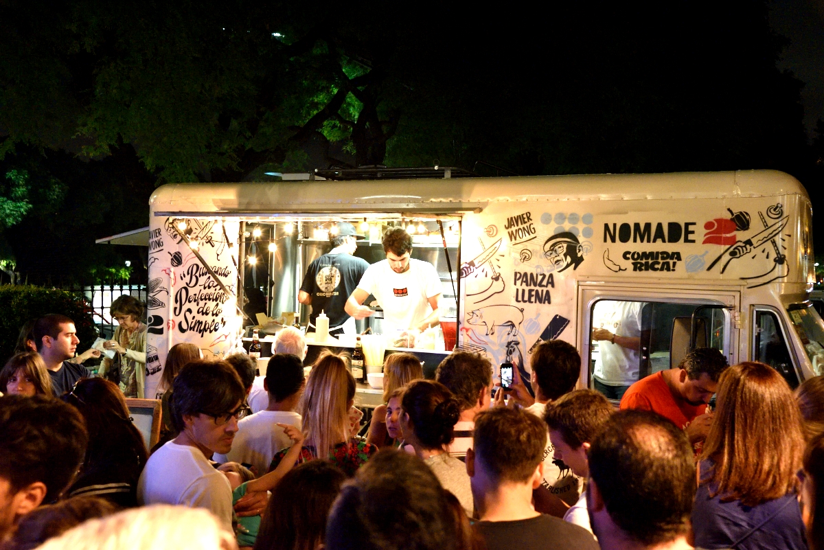 Food Truck Hipodromo De Palermo